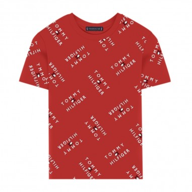 Tommy Hilfiger Kids Boys All-Over Logo Tee - Tommy Hilfiger Kids kb0kb05747-tommyhilfigerkids20