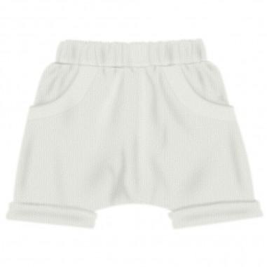Aventiquattrore Baby White Shorts - Aventiquattrore a240323-2110-aventiquattrore20