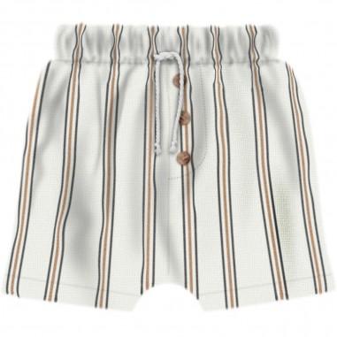 Aventiquattrore Baby Striped Shorts - Aventiquattrore a240335-2113-aventiquattrore20