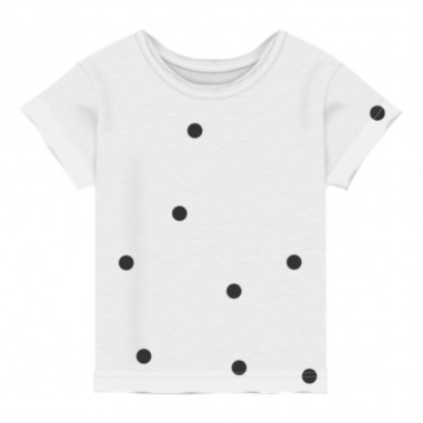 Aventiquattrore Baby Dotted T-Shirt - Aventiquattrore a240408a-2122-aventiquattrore20