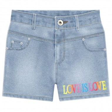 Alberta Ferretti Junior Girls Denim Shorts - Alberta Ferretti Junior 022163-126-albertaferrettijunior20