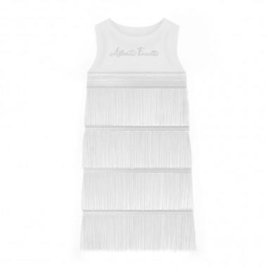 Alberta Ferretti Junior Girls Crepe De Chine Dress - Alberta Ferretti Junior 022173-002-albertaferrettijunior20