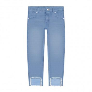Chiara Ferragni Kids Girls Flirting Denim Jeans - Chiara Ferragni Kids cfkjs003-chiaraferragnikids20