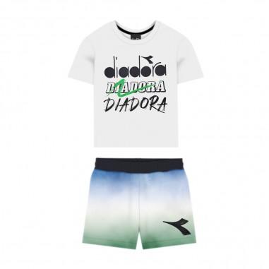 Diadora Unisex Baby Jogging Outfit - Diadora 022366-diadora20