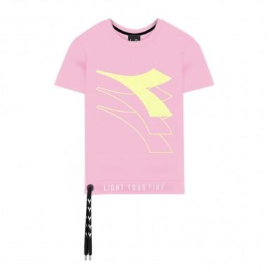 Diadora T-Shirt Rosa Ragazza - Diadora 022837-diadora20
