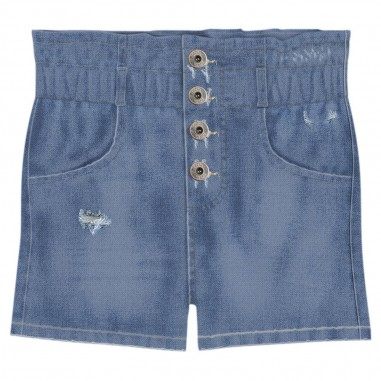 Dixie Kids Short Jeans Ragazza - Dixie Kids rb23f40g23-dixiekids20