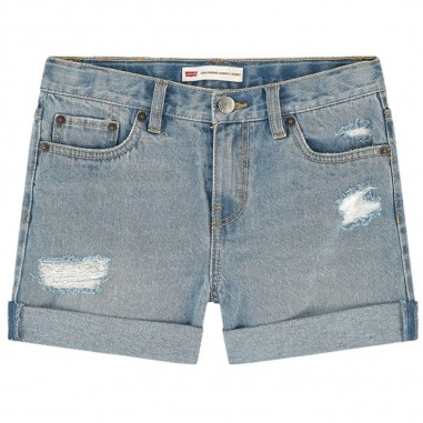 Levi's Girls Denim Shorts - Levi's lk3e45363e4536-levis20