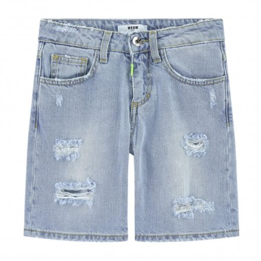MSGM Bermuda Jeans Bambino - MSGM 022421-msgm20
