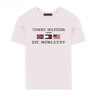 Tommy Hilfiger Kids T-Shirt Bandiere Alpine - Tommy Hilfiger Kids kb0kb05395-tommyhilfigerkids20