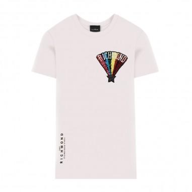 Richmond T-Shirt Bambina Bianca - Richmond giove-richmond20