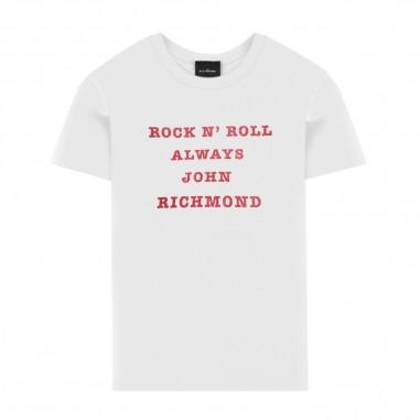 Richmond T-Shirt Bianca Bambina - Richmond alt-white-richmond20