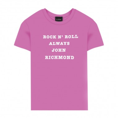 Richmond T-Shirt Fucsia Bambina - Richmond alt-fuxia-richmond20