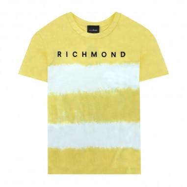Richmond T-Shirt Giallo Limone Tie Dye - Richmond juan-richmond20