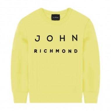 Richmond Yellow Logo Sweatshirt - Richmond gaby-lemon-richmond20