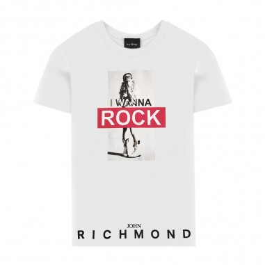 Richmond T-Shirt Rock Bianca - Richmond quardu-richmond20