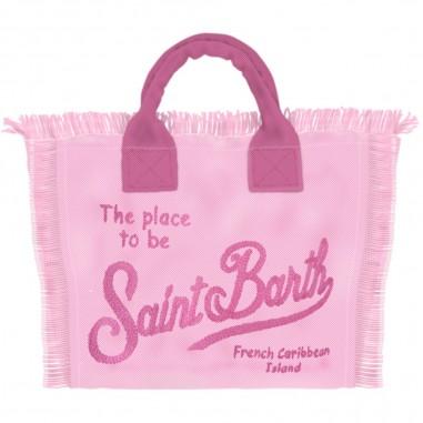 Mc2 Saint Barth Canvas Beach Bag - Mc2 Saint Barth col0001-emb27-mc2saintbarth20