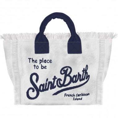 Mc2 Saint Barth Borsa Mare Canvas Panna - Mc2 Saint Barth col0001-i1160-mc2saintbarth20