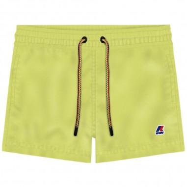 K-Way Green Hazel Swim Trunks - K-Way k0088g0-v07-kway20
