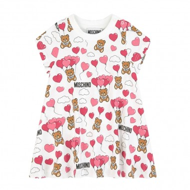 Moschino Kids Baby Girls Heart Dress - Moschino Kids mdv07wlbb24-moschinokids20