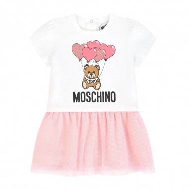 Moschino Kids Abito Tulle Neonata - Moschino Kids mdv07xlba00-moschinokids20