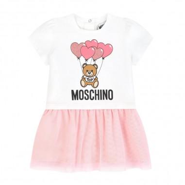 Moschino Kids Baby Girls Tulle Dress - Moschino Kids mdv07xlba00-moschinokids20