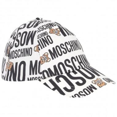 Moschino Kids Cappello Logomania - Moschino Kids hvx00wlmb06-moschinokids20
