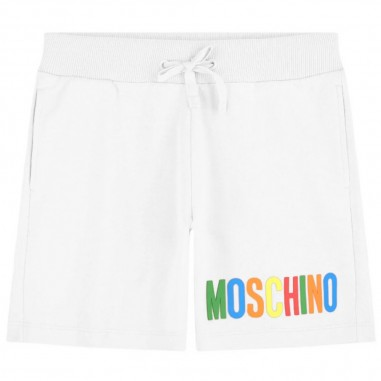 Moschino Kids Shorts Bianchi Bambina - Moschino Kids haq002lda12-moschinokids20