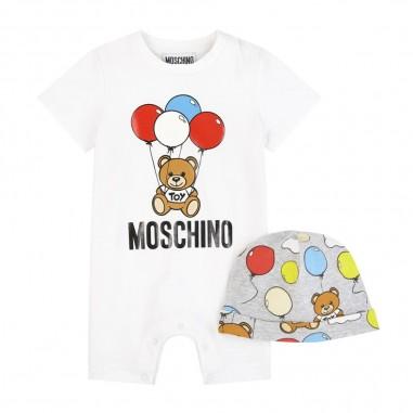 Moschino Kids Tutina & Berretto Neonato - Moschino Kids muy02qlba00-moschinokids20