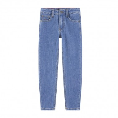 Tommy Hilfiger Kids Girls High Rise Tapered Jeans - Tommy Hilfiger Kids kg0kg04821-tommyhilfigerkids20