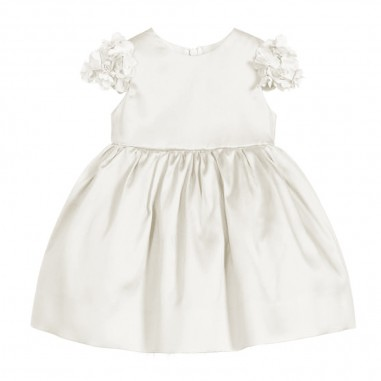 Monnalisa Baby Girls Mikado Dress - Monnalisa 735906-monnalisa20