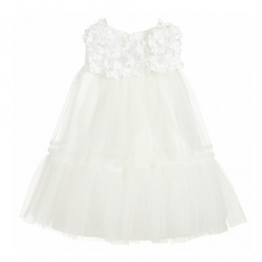 Monnalisa Baby Girls Tulle Dress - Monnalisa 735902-monnalisa20
