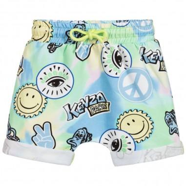 Kenzo Baby Tie Dye Bermuda - Kenzo kq25517-kenzo20