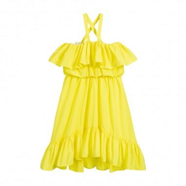 MSGM Vestito Giallo Bambina - MSGM 022065-msgm20
