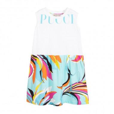 Emilio Pucci Junior Girls Jersey Dress - Emilio Pucci Junior 9m1032-mx170-100rs-pucci20