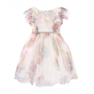 Monnalisa Girls Bouquet Dress - Monnalisa 795908-monnalisa20