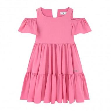 Monnalisa Girls Capri Poplin Dress - Monnalisa 115943a1-monnalisa20