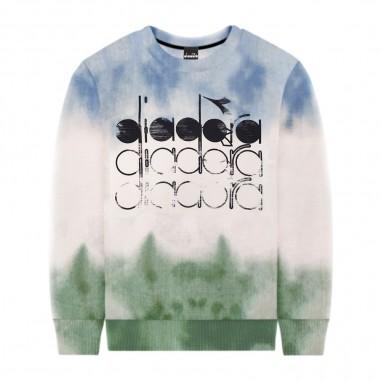 Diadora Boys Turquoise Sweatshirt - Diadora 022286-diadora20