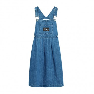 Calvin Klein Jeans Kids Girls Denim Dungaree - Calvin Klein Jeans Kids ig0ig00374-calvinkleinjeanskids20