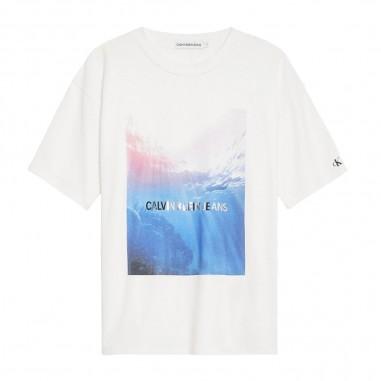 Calvin Klein Jeans Kids T-Shirt Foto Bambina - Calvin Klein Jeans Kids ig0ig00383-calvinkleinjeanskids20