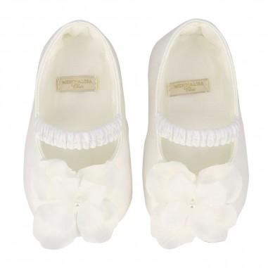 Monnalisa Baby Girl Floral Shoes - Monnalisa 735006-monnalisa20