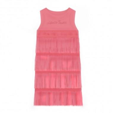 Alberta Ferretti Junior Girls Pink Dress - Alberta Ferretti Junior 022173-042-albertaferrettijunior20