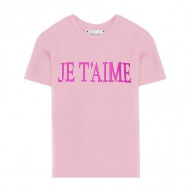 Alberta Ferretti Junior T-Shirt Rosa Bambina - Alberta Ferretti Junior 022146-042-albertaferrettijunior20