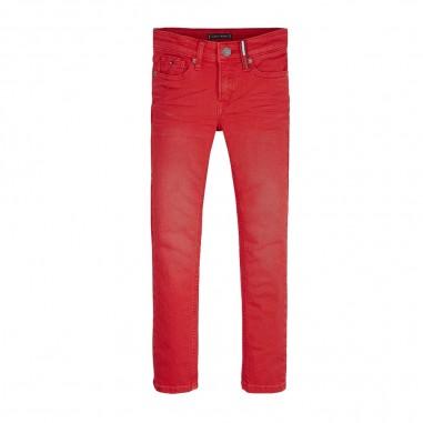 Tommy Hilfiger Kids Pantalone Slim Rosso - Tommy Hilfiger Kids kb0kb05387-red-tommy20