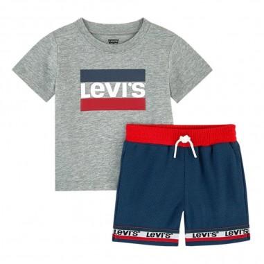 Levi's Completo T-Shirt Bermuda Neonato - Levi's lk6eb0836eb083-levis20