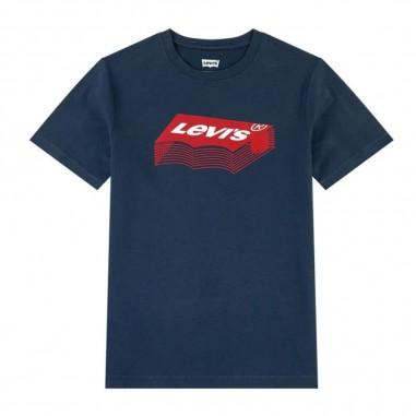 Levi's T-Shirt Stacked Batwing Bambino - Levi's lk8ea8088ea808-levis20