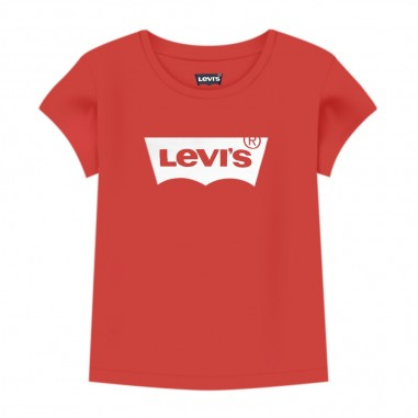 Levi's Baby Girls Red T-Shirt - Levi's lk1eb5261eb526-red-levis20