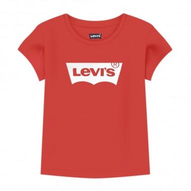 Levi's T-Shirt Rossa Neonata - Levi's lk1eb5261eb526-red-levis20