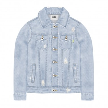 MSGM Denim Jacket - MSGM 022414-msgm20