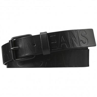 Calvin Klein Jeans Kids Unisex Leather Belt - Calvin Klein Jeans Kids iu0iu00109-calvinkleinjeanskids20