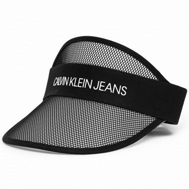 Calvin Klein Jeans Kids Visiera Logo Unisex - Calvin Klein Jeans Kids iu0iu00102-black-ck20